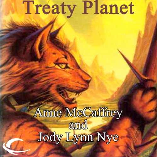 Treaty Planet audiobook cover art
