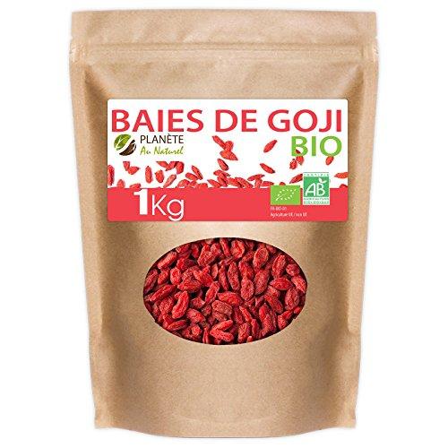 Baies de Goji Bio de la région Tibétaine - 1kg