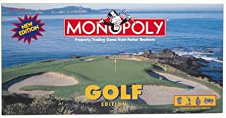 Monopoly Golf Edition with Custom Pewter Tokens by USAopoly