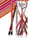 AKDSteel 12 Color Matte lip Liner Lipstick Pen Waterproof Long-Lasting Pigment Does Not Smudge Smooth Lipstick