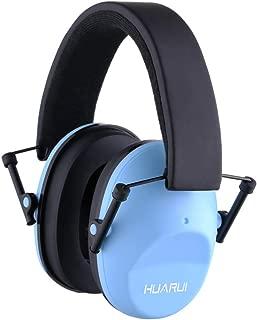 NoiseCancellingEarMuffs for Shooting Hunting, Adjustable Shooting Ear Muffs,Shooters Ear Protection Safety Ear Muffs, Lightweight Ear Muffs Noise Protection HUARUI (Lake Blue)