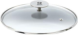 Beka Vita 2 Couvercle en Verre pour Wok Ø 30 cm, Transparent, 33x33x8 cm