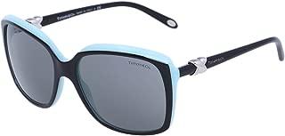 4076 80553F Black TF4076 Square Sunglasses Lens Category 2 Size 58mm