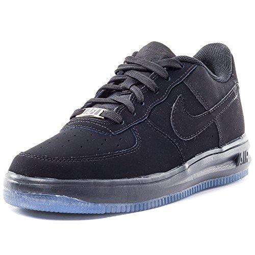 Nike Lunar Force 1 '16 (GS), Zapatillas de Baloncesto Niños, Negro (Black/Black-Black), 38