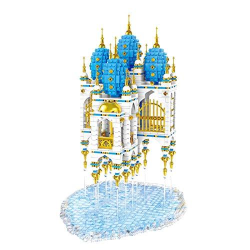 1yess Architektur Mini Bausteine Drifting City 3206 PC Micro Granule 3D Puzzle Modell DIY BAU Pädagogisches Spielzeug Geschenk für Erwachsene und Kinder 8bayfa