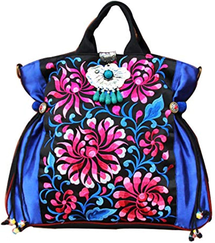 LZH Handtasche, Bestickte Handtasche Umhngetasche 38  42CM
