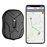 Winnes GPS Tracker 5 Months Standby Anti Theft GPS Tracking Device Strong Magnet GPS Car Tracker GPS/GSM/LBS Real Time GPS Tracker Locator Geo-fence, Movement Alarm, SMS/APP/Website Tracking
