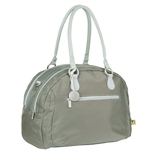 Casual Gold Label Bowler Bag luiertas/babytas incl. wikkelaccessoires, metallic frosty