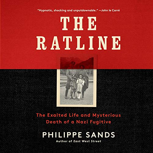 The Ratline Audiobook By Philippe Sands cover art