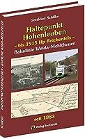 Haltepunkt Hohenleuben - bis 1915 Hp Reichenfels: Geschichte des Haltepunktes Hohenleuben der Bahnlinie Weida-Mehltheuer