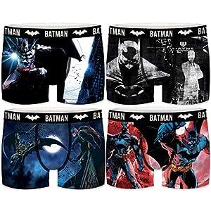FREEGUN Boxers Marca Colección Batman