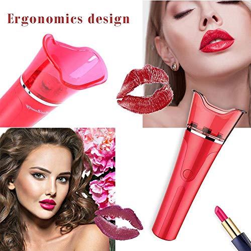 JJIIEE Automatische Lip Plumper, elektrische Lip Enhancer Intelligent Deflated Entwickelt Lippen plumpering Geräteschnell Lip Enhancement-Vergrößerer-Werkzeug
