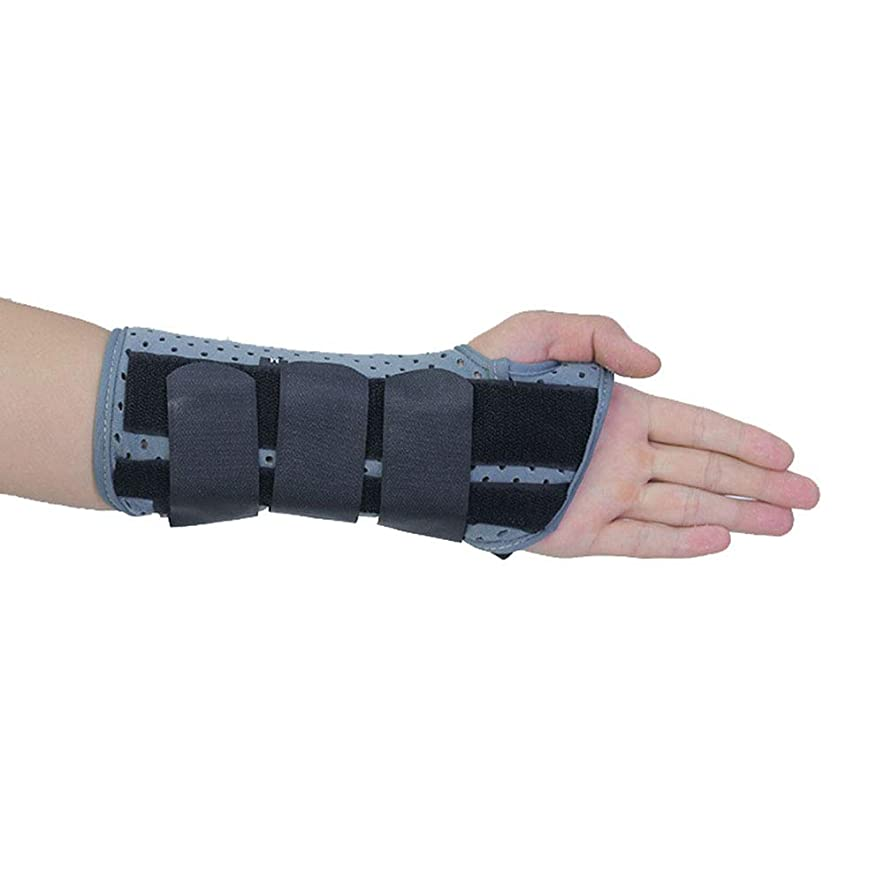 のれんサーバントシフト手首サポートブレース-手根管副木-手根管症候群、捻Sp、腱炎、関節炎の痛みを軽減,Righthand,M