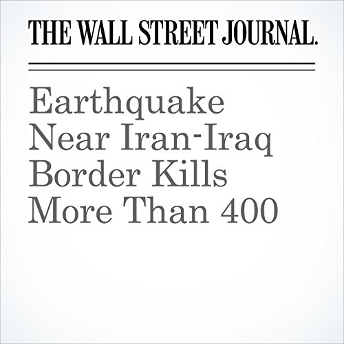 Earthquake Near Iran-Iraq Border Kills More Than 400 copertina