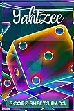 Yahtzee Score Sheets Pads: yahtzee refill sheets