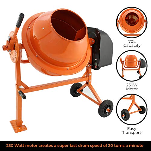Concrete Cement Mixer Mortar Mixing Machine...