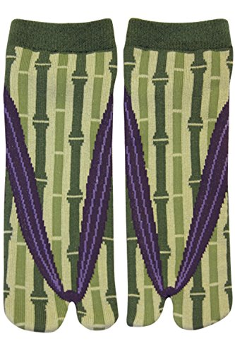 Calcetines japoneses Samurai Ninja Tabi para Hombre (bambú)