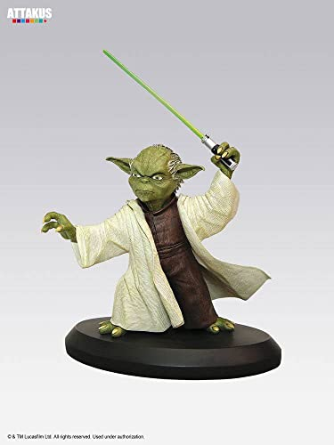 ATTAKUS Star Wars Elite Yoda Statue, 3700472004595, 8
