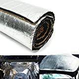 ViCiCA 10mm Car Sound Deadening Mat, Heat Shield Thermal Sound Insulation Proofing Deadener Mat, Car Audio Noise Control Acoustic Insulation and Dampening Moistureproof Waterproof (40'X15')