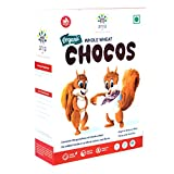 Arya Farm Certified Organic Children's Cereals Whole Wheat Chocos 400 g