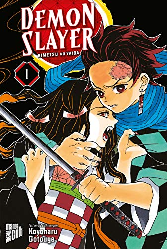 Demon Slayer 1 Kimetsu no yaiba (German Version)