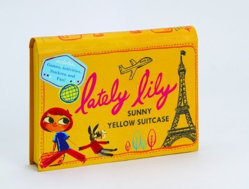 Lately Lily Sunny Yellow Suitcase (2014-03-25)