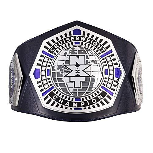 WWE Authentic Wear NXT Cruiserweight Championship Replica Title Belt Silver