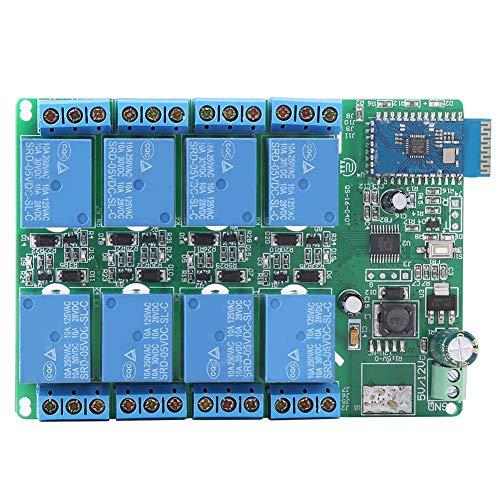 Drahtloses Relais Telefonrelais, Drahtloses Relais, Telefonrelais, 5V 8-Kanal-Bluetooth-Relaisplatinen-Fernbedienungs ter