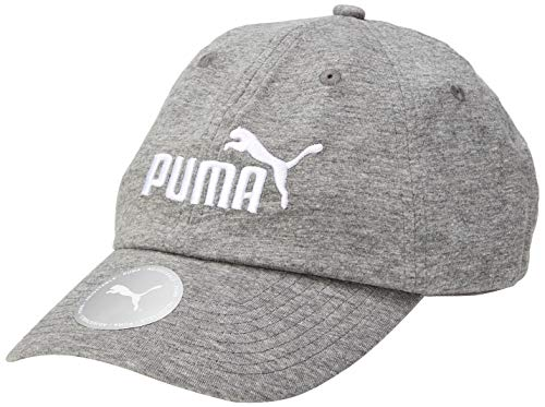 PUMA ESS Cap Gorra, Unisex Adulto, Medium Gray Heather-No 1