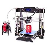 AA+Inks A8 3D Drucker Kit Selbstbauen LCD Display ABS PLA Filament Wooden Desktop 3D Drucker DIY 3D Printer Kit