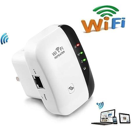 Hozora Amplificador de Alcance WiFi Super Booster 300 Mbps Superboost Velocidad inalámbrica de Velocidad, Amplificador de Refuerzo de señal de ...