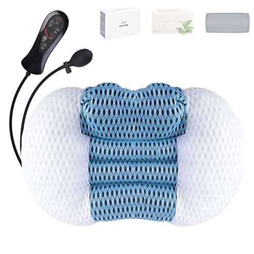 YYGG 2021 Masseur Cervical, Masseur Cervical et Dos avec Chauffage, Massage Électrique avec 3 Réglages de Vitesse, pour Cou Nuque Dos Epaules Jambes(Haute Qualité)