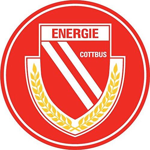 Energie Cottbus FC Germany Soccer Football Hochwertigen Auto-Autoaufkleber 12 x 12 cm