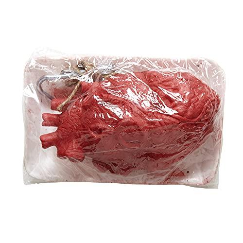 Widmann 01034 - Bloody Corazón Decoración de Unidades para fiestas de Halloween , Modelos/colores Surtidos, 1 Unidad