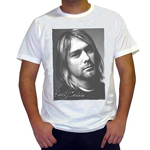 One in the City Kurt Cobain: Men's T-Shirt Celebrity Star