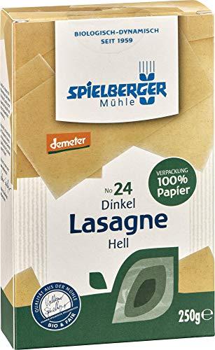 Spielberger Bio Dinkel Lasagne, hell, demeter (1 x 250 gr)