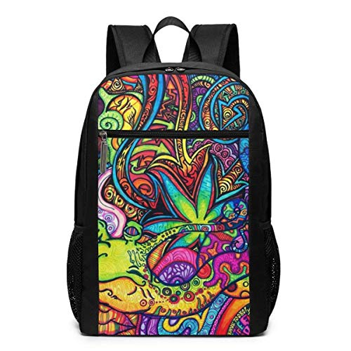 Wallpaper Abyss Backpack Suitable For School and Outdoor 17 Inch