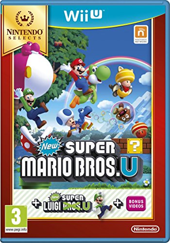 New Super Mario Bros. U Plus New Super Luigi U Select [Importación Inglesa]