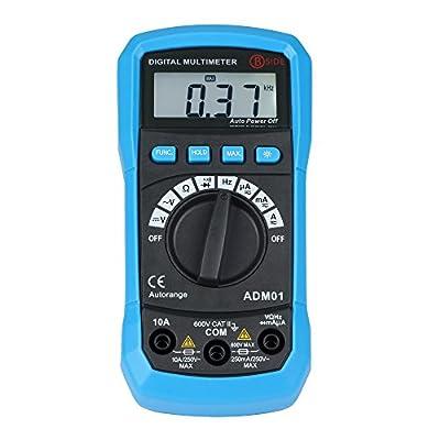 Bside Auto Range Digital Multimeter with Backlight Display and HZ Measurement