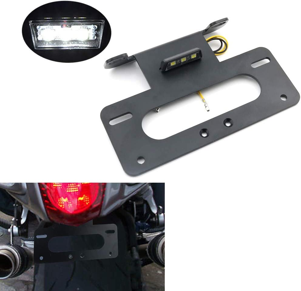 Max 72% OFF Xitomer Genuine Fender Eliminator License Plate Tail Holder Tidy Fit
