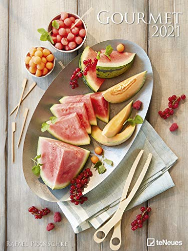 Gourmet 2021 - Foto-Kalender - Poster-Kalender - 48x64 - Rezepte - Küche