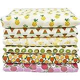 U/A 6 Stück 50 x 40cm Früchte Obst Muster Kinder