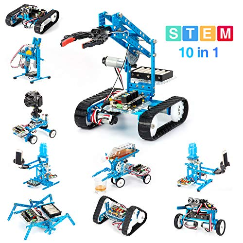 Makeblock DIY Ultimate Robot Kit - Premium Quality - 10-in-1 Robot - STEM Education - Arduino -...