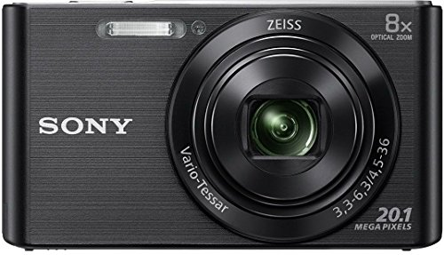 Sony Cyber-Shot 20.1 MP Point and Shoot Camera with 8X Optical Zoom