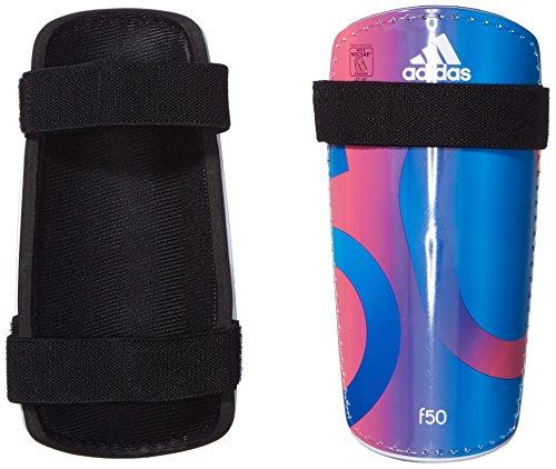 adidas Erwachsene Schienbeinschoner F50 Lite, Solar Blue2 S14/Solar Pink/White, L