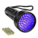 Best Cat Stains - Black Light UV Flashlight,Vansky 2020 Upgraded 51 LED Review