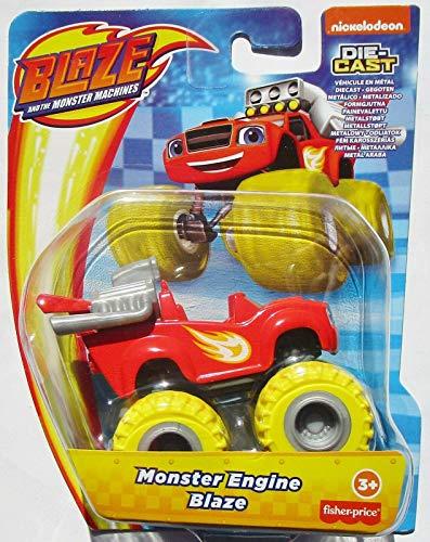 Blaze The Monster Machines - GWX77 - Veicolo in Metallo - Monster Engine Die-Cast