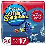 Huggies Little Swimmers, Disposable Swimpants, Size 5-6, 17 Count...