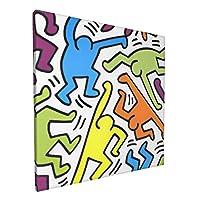 フレーム装飾画 ポスター アートパネル アートフレーム キャンバスアート 壁掛け 壁アート 壁飾り 現代 インテリア 絵 おしゃれ モダンアート 部屋飾り 壁の絵 壁掛け ソファの背景絵画 木枠付きの完成品 正方形 30x30cm 玄関