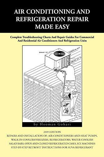 Compare Textbook Prices for Air conditioning and Refrigeration Repair Made Easy: Complete Troubleshooting Charts And Repair Guides For Commercial  ISBN 9781441539441 by Gohari, Hooman